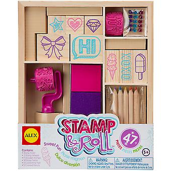 Stamp & Roll Sweet Fun Kit- A556