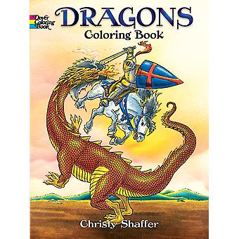 Dover Publications Dragons Coloring Book Dov 42057