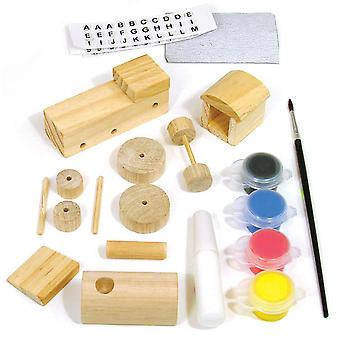 Creativity For Kids Activity Kits Make Your Own Train Makes 1 Ck 1476