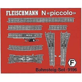 N Fleischmann piccolo (incl. track bed) 9196 Expansion set