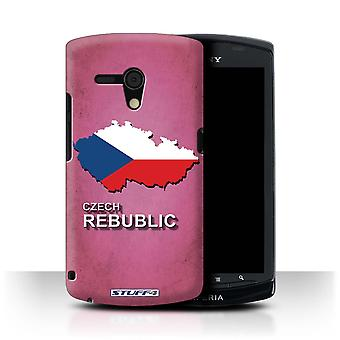 STUFF4 Case/Cover for Sony Xperia Neo L/MT25i/Czech/Czechian/Flag Nations