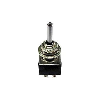 Toggle switch 250 Vac 3 A 2 x On/Off/On SCI TA203A