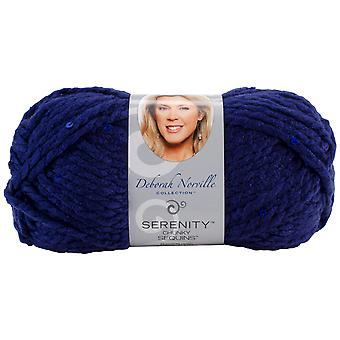Deborah Norville Collection Serenity Chunky Sequin Yarn-Night Sky DN550-04