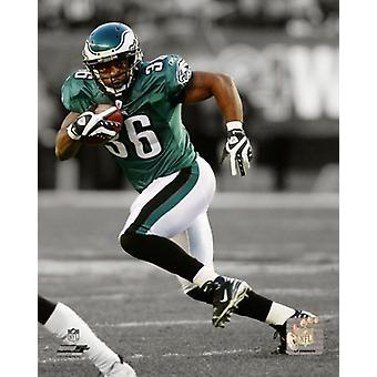Brian Westbrook 2009 Spotlight Action Photo Print