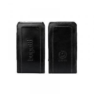 Twin leather pocket case size SL (73x129mm) black