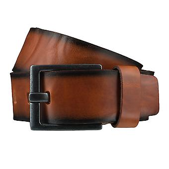 BERND GÖTZ belts men's belts leather belt Cognac 3721