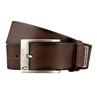 Camel active belt leather belts men's belts can be shortened Brown 2824
