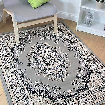 Lancaster Grey Traditional Rugs