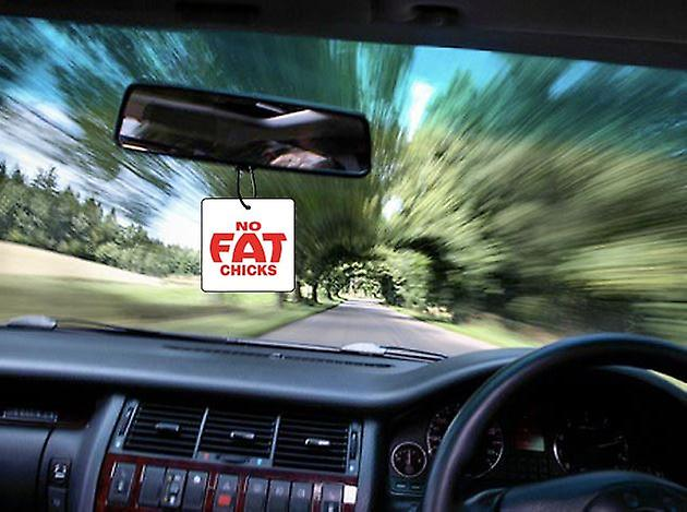 No Fat Chicks auto deodorante