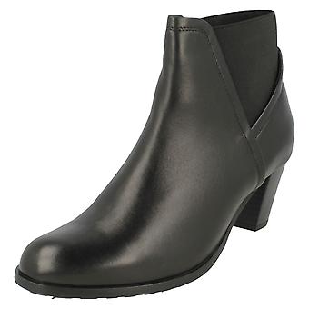 Ladies Van Dal Smart Heeled Ankle Boots Elba