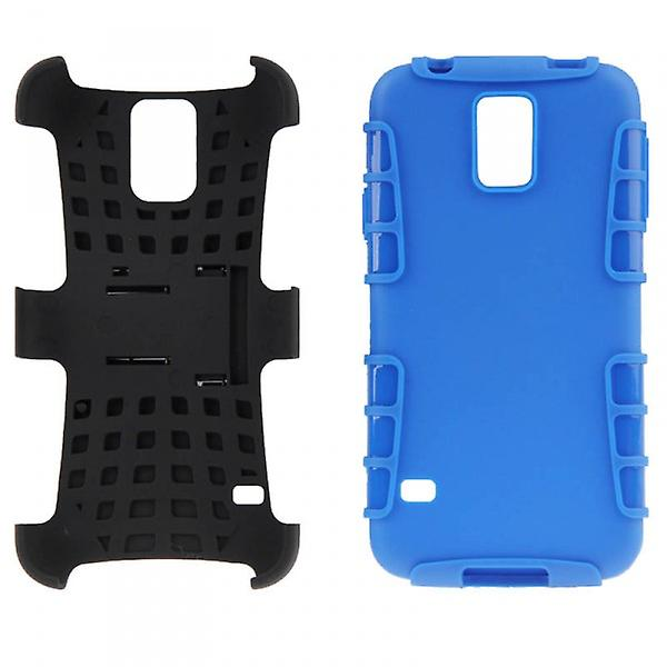 Hybrid case 2 piece SWL robot blue for Samsung Galaxy S5