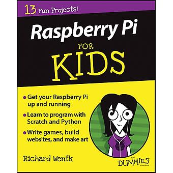Raspberry Pi For Kids For Dummies (Paperback) by Wentk Richard