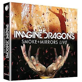 Stellen Sie sich Drachen - Rauch + Spiegel Live [DVD] USA importieren