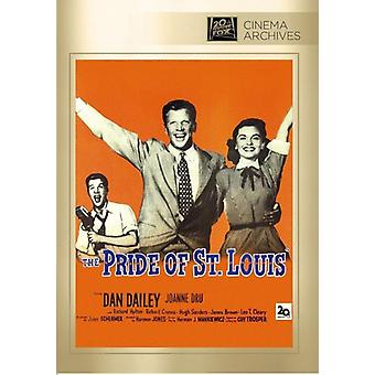 Pride of st. Louis [DVD] USA import