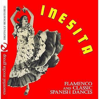 Inesita - Flamenco & clássico Danças espanholas [CD] EUA importar