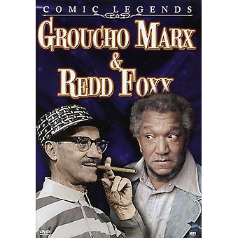 Komiska Legends: Groucho Marx & Redd Foxx [DVD] USA import