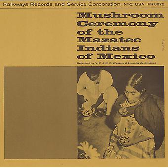 Maria Sabona - Mushroom Ceremony of the Mazatec Indians of Mexico [CD] USA import