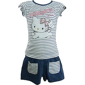 Girls Charmmy Kitty Hello Kitty Summer T-shirt & Shorts Set