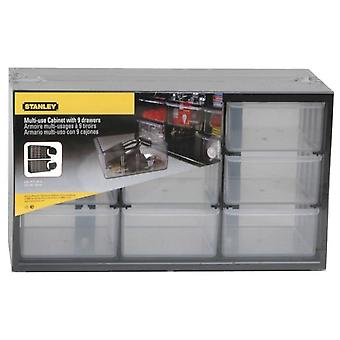 Stanley Multipurpose Storage Bin With 9 Large Drawers