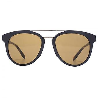 Salvatore Ferragamo Classic Double Bridge Sunglasses In Blue