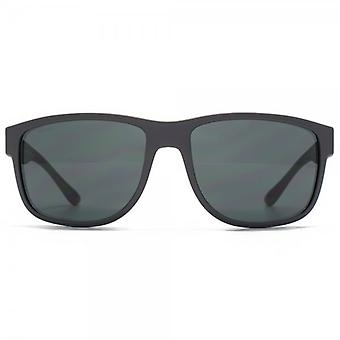 Giorgio Armani Timeless Elegance Square Sunglasses In Matte Grey