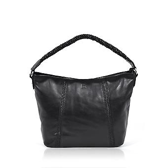 Brampton Hobo Bag in Black