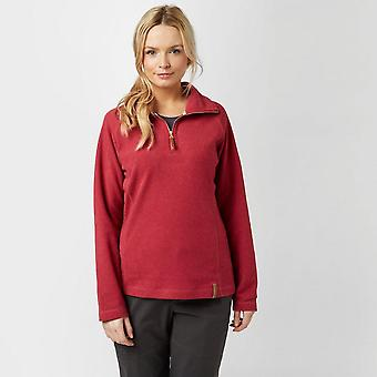 Craghoppers Damen Delia Half Zip Fleece rosa