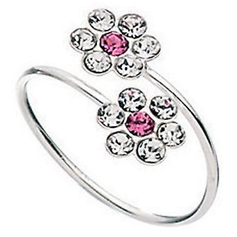 925 Silver Zirconia Adjustable Toe Ring