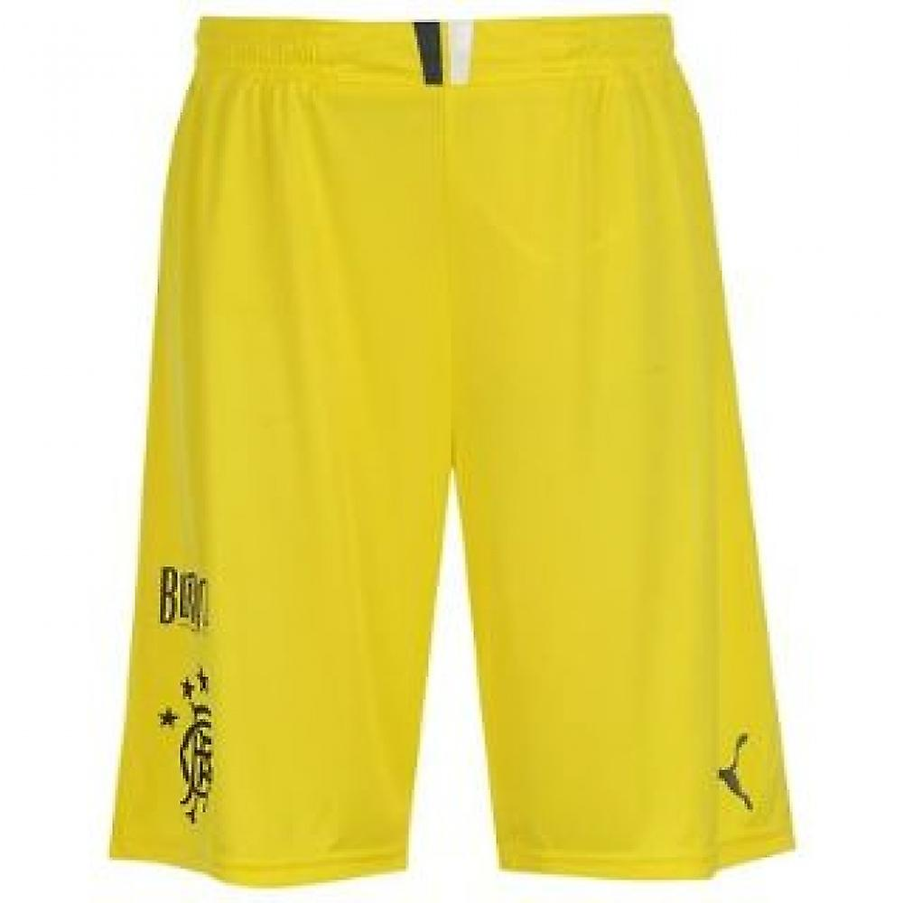 2013-14 Rangers Accueil Short de gardien de but (jaune)