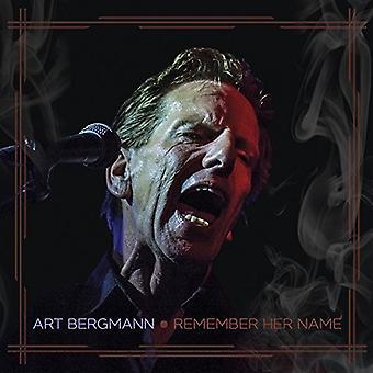Art Bergmann - Remember Her Name [Vinyl] USA import