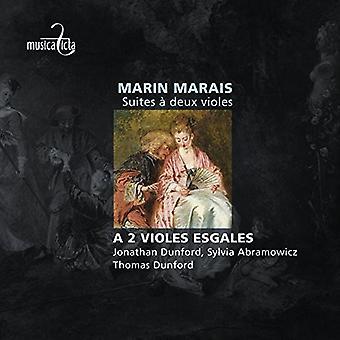 Marais / en 2 Violes Esgales - Suites en Deux Violes [CD] USA import