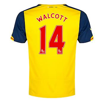 2014-15 Arsenal Away Shirt (Walcott 14) - Kids