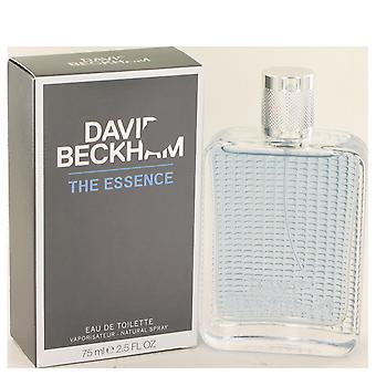 David Beckham essens Eau de Toilette 75ml EDT Spray