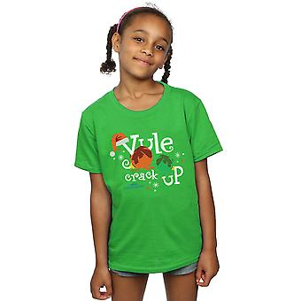 National Lampoon's Christmas Vacation Girls Yule Crack Up T-Shirt