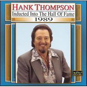 Hank Thompson - 1989-Country Music Hall of Fam [CD] USA import