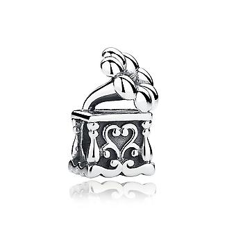 Sterling silver charm musical phonograph SCC001