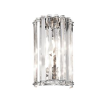 Crystal Skye Two Light Wall Light - Elstead Lighting Kl/crstskye2