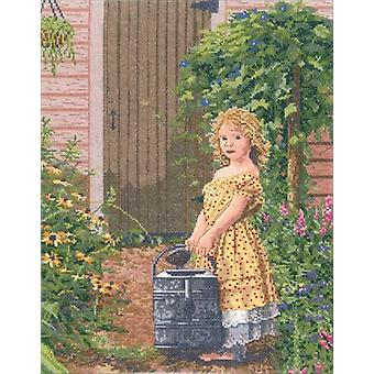 The Gardener's Daughter Counted Cross Stitch Kit-12