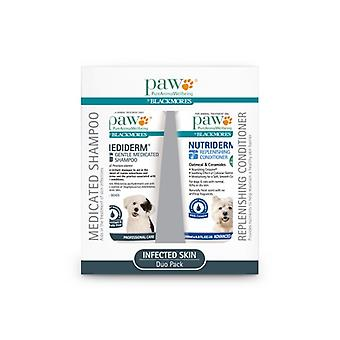 PAW Nutriderm Duo Pack 200ml sham & cond