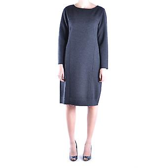 Alberta Ferretti women MCBI011007O grey wool dress