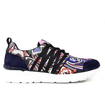 Msgm women 1941MDS12074 multicolor leather of sneakers