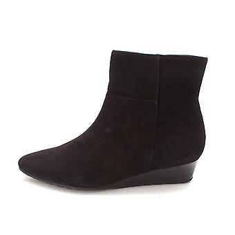 Cole Haan Womens 14A4279 Suede Almond Toe Ankle Fashion Boots