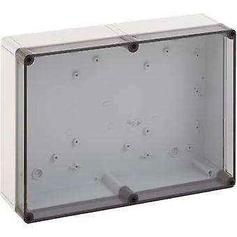 Build-in casing 94 x 94 x 57 Polycarbonate (PC) Light grey (RAL 7035)