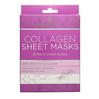 Skin Academy Collagen 2 Fabric Sheet Masks Enriched with Collagen