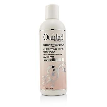 Ouidad Superfruit Renewal Clarifying Cream Shampoo (All Textures) - 250ml/8.5oz