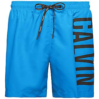 Calvin Klein Intense Power Swim Shorts, Electric Blue, X Large