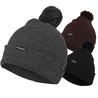 Urban classics - BOBBLE BEANIE unisex inverno cappello