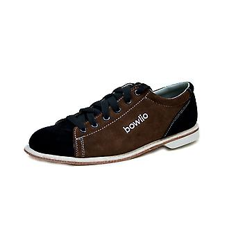Bowling shoes - Bowlio Supreme - suede with leather sole
