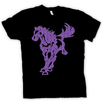 Kinder T-shirt - Pferd im Galopp - Cool