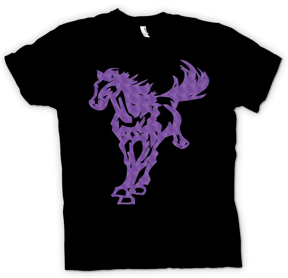 Kids T-shirt - paard galopperen - Cool